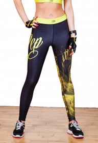 Lightning Leggings - Yellow