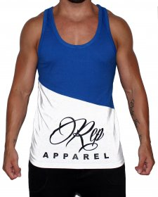 The Shred Vest - Royal/Wht
