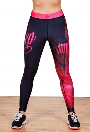 Lightning Leggings - Pink