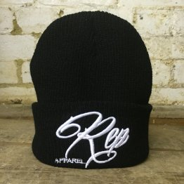 Signature Heritage Beanie -Black/White