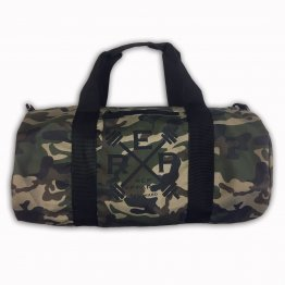 Rep Hard Camo Barrel Bag