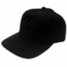 Signature Snapback - Black on Black