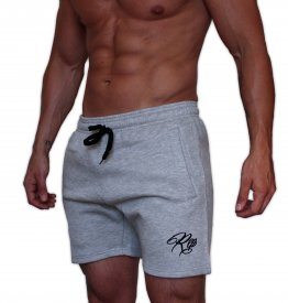 Signature Fleece Shorts - Grey