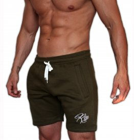 Signature Fleece Shorts - Khaki