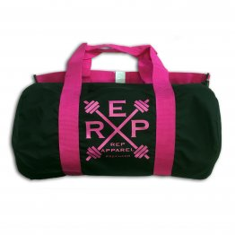 Rep Hard Fushia Barrel Bag